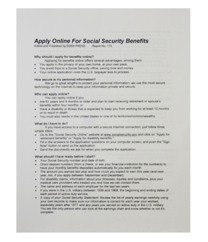 how to find social security benefits online