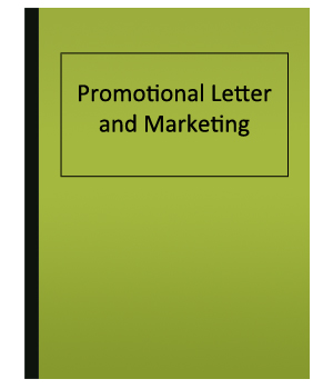 How to write promotional letters